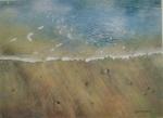 Waters Edge: watercolour