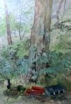"""""""Key"""" Watercolour 70x50cms"""