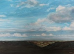 """Blue Sky Thinking"" watercolour 70x90cms"