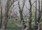 """""""Solstice"""" watercolour 70x90cms"""