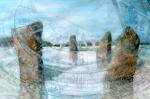 """""""Sun Dial 2"""" watercolour 50x70cms"""