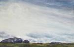"""""""Laid Low 2"""".  Watercolour 50 x60cms"""