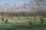 """""""Passing Through"""" watercolour approx 50x70cms"""
