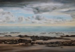 Dusk Tide. Oil on Canvas. A1 Size