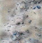 Sandscape 1. Watercolour 20x20cms