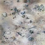 Sandscape 2. Watercolour 20x20cms