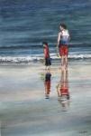 Like Father like Son. Watercolour A3