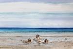 """Remnants [Fort Joe]"" watercolour approx 40x50cms"