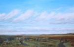 """Sunday"" oil on canvas. Derbyshire County Council Award; Derbyshire Open Exhibition."