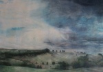 """""""High Lights"""" Watercolour. Highly Commended. Derbyshire Open Exhibition"""