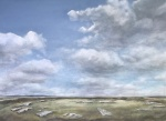 """""""Late in the Day"""" arbor low. Watercolour. 50x70cm"""